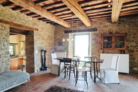 Wonderful Tuscan villa for friends & family - - Arezzo - Haus