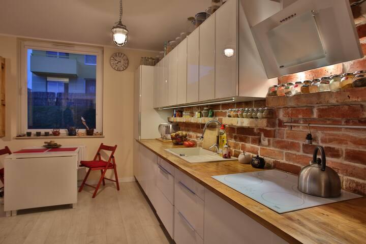 Apartment with garden and hammocks! - Gdaňsk - Byt