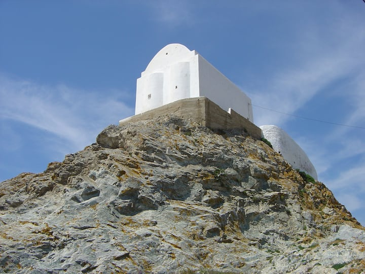 traditional house town of Serifos