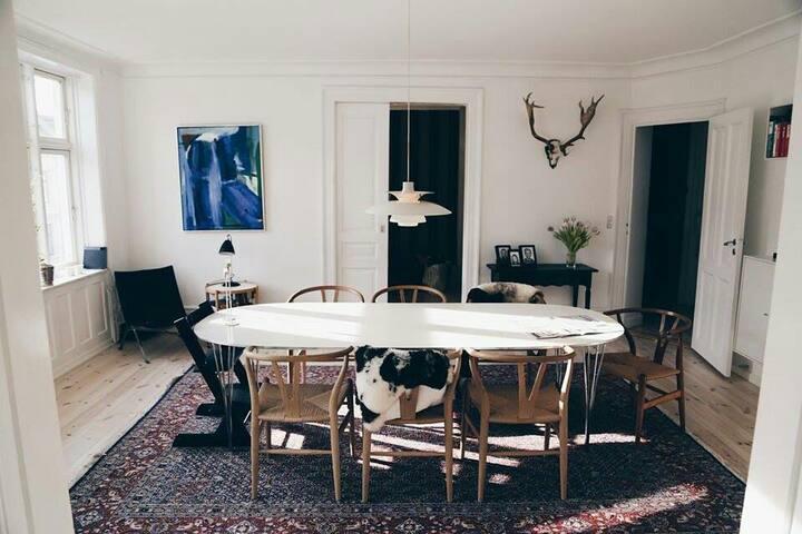 Stylish and modern city apartment