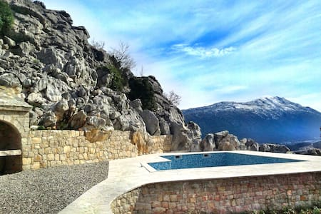 Villa with pool near Makarska - Kljenak - 別荘
