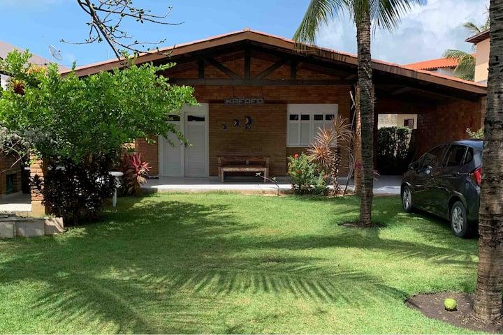 Casa aconchegante na Praia de Sonho Verde/AL