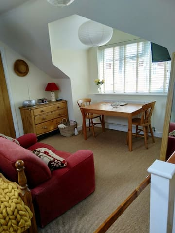 A cosy self contained Loft in a lovely village