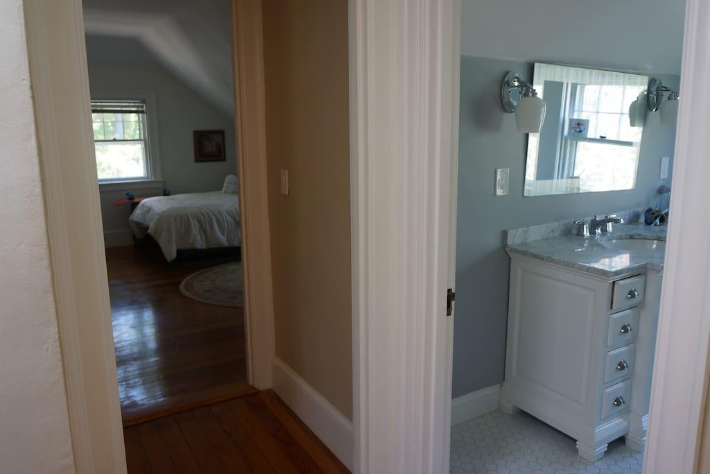 Hallway access to your private Bathroom