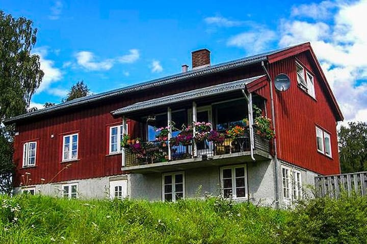 Room on old farm in beautiful sourroundings - 3 - Lillehammer - Apartamento