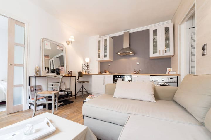Haussmann Classic & Chic Apartment