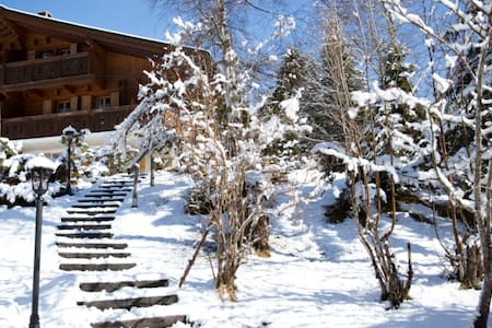 Diablerets, Swiss Alps, sleeps 6 - Sunny Chalet - Ormont-Dessus
