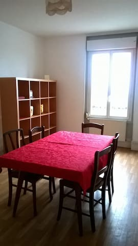 APPARTEMENT MEUBLE IDEAL POUR CURE  - Bourbon-Lancy - Apartment