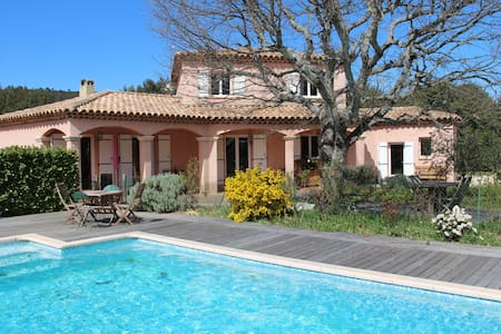 Villa in the shade of Green Oaks - Seillons source d'Argens - Casa