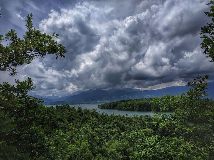 Σπίτι με θέα τη λίμνη Πλαστήρα - eftychia's home