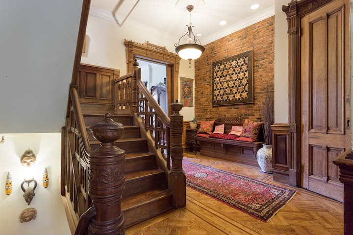 Victorian Sanctuary in a Historic Brownstone