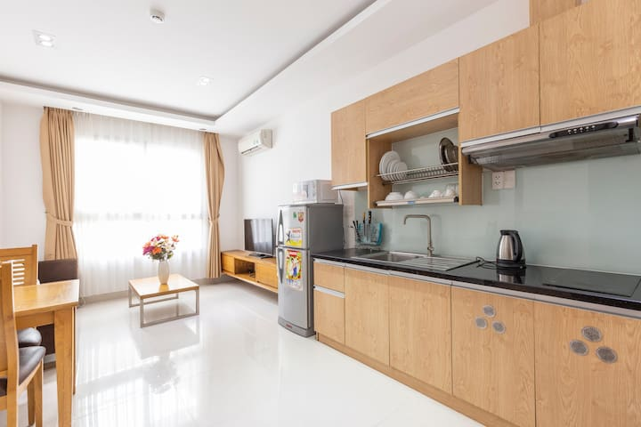 Business Location! Apt in Central HCMC