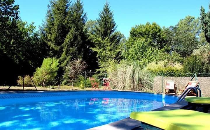 Mise au vert avec piscine sans vis-à-vis
