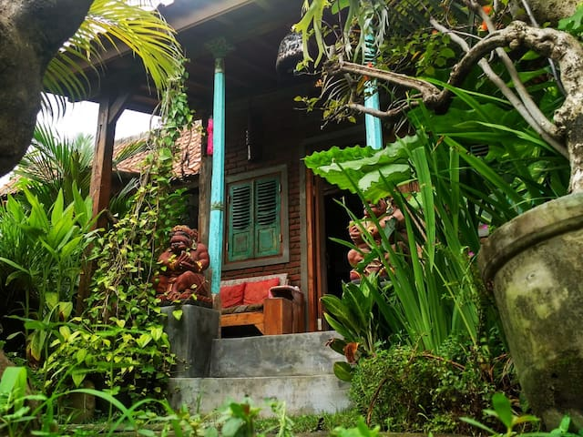 Amazing Ethnical Wooden House 6m to Beach - LG1