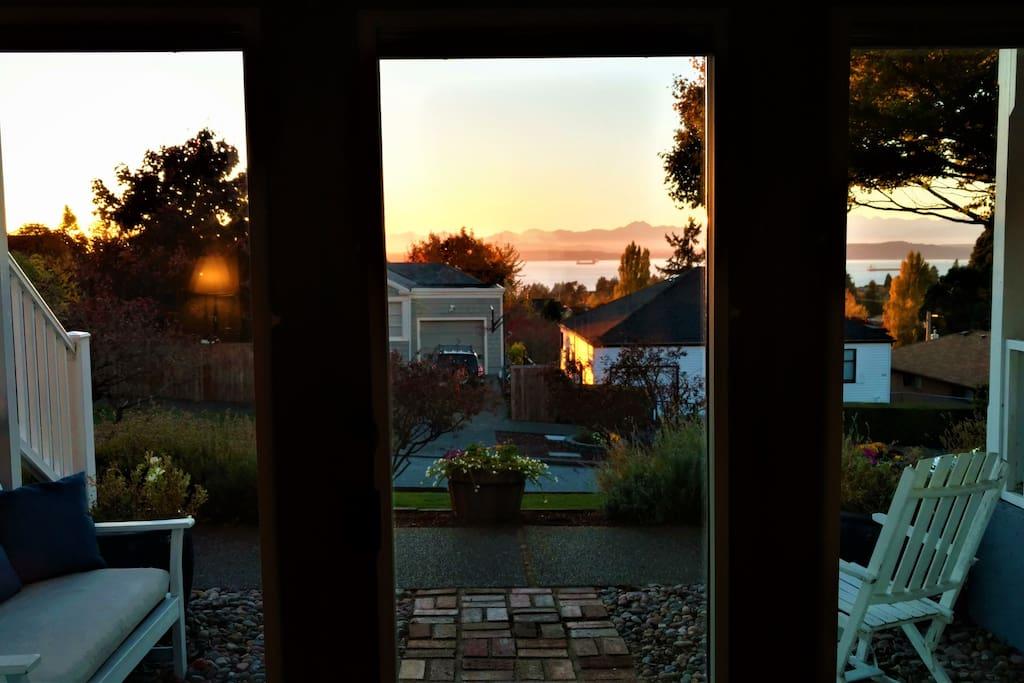 Front door view.