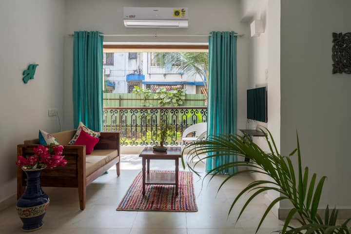luxurious and comfortable 1bhk🏠  @Calangute🏖