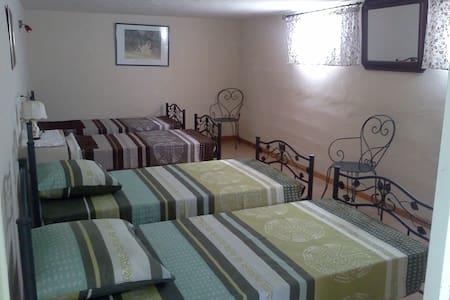 Chambre aux pieds du Mt Ventoux pour 4 personnes - Le Barroux