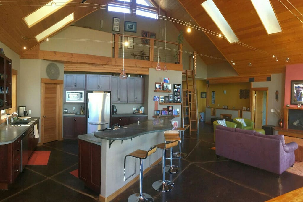 kitchen / great room / loft