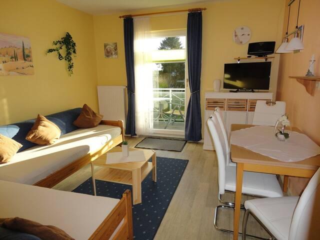 Ruhige Wohnung an der Ostsee mit Südbalkon - Dahme - Osakehuoneisto