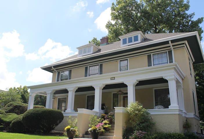 Family Reunion Gem in Charming, Historic Riverside