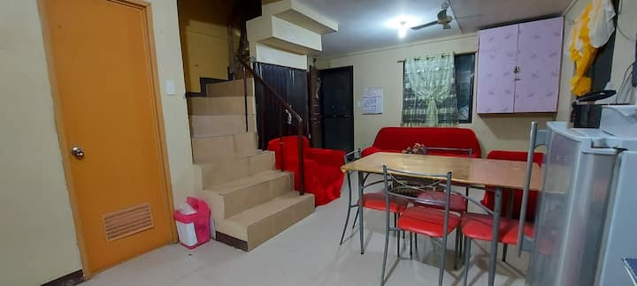 Private airconditioned room good for 2 persons