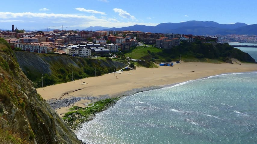 Double room in beautiful apt. w/ garden near beach - Getxo