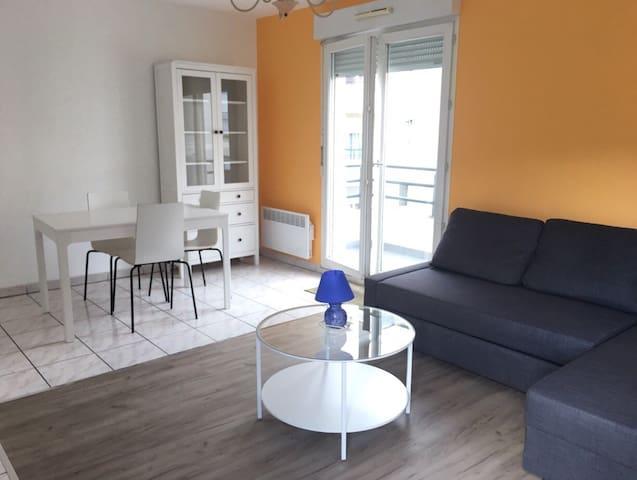Appartement en résidence privée et en centre ville