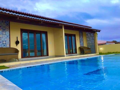 Chalé01/completo-Cond.fechado/piscina/churras/gar