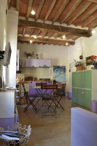 Incantevole bilocale centro storico - Campagnatico - Wohnung