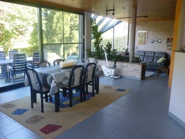 Eetkamer voor ontbijt en/of diner