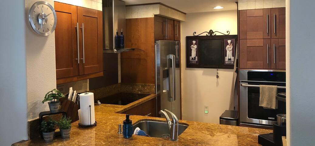 Spacious room/bath in corner unit penthouse
