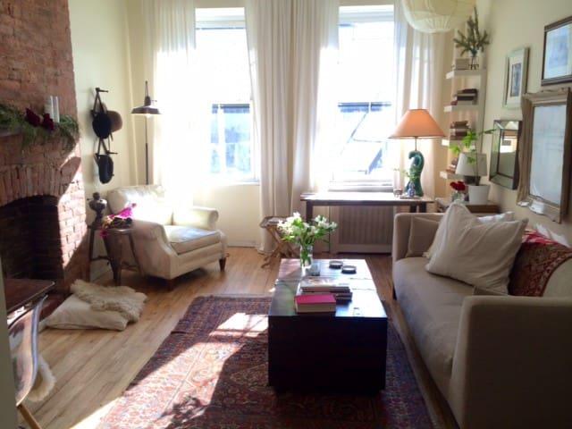 Sunny West Village Loft Studio  - New York - Apartment