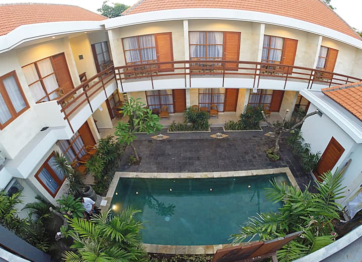 Affordable family homestay close to Sanur beach