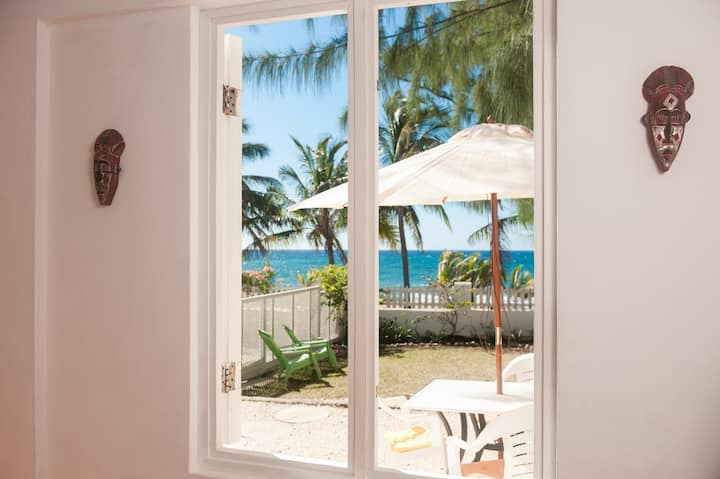 Oceanfront living at Coconut Bay Beach Villa