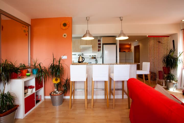 Bright room in penthouse - Catarroja - Apartment