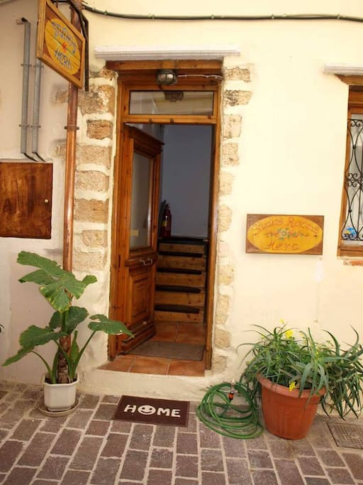 ENTRY TO HOUSE HERA