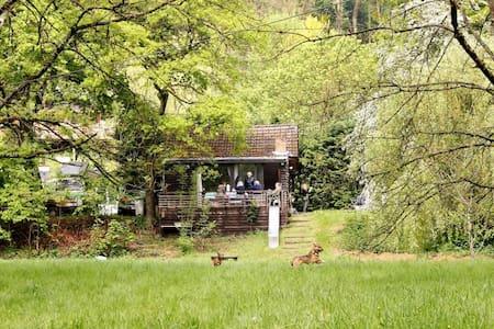 Vakantiehuis aan de Ourthe hartje Ardennen