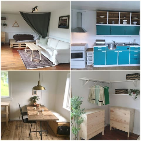 Welcome to this cozy place! - Hønefoss - Apartament