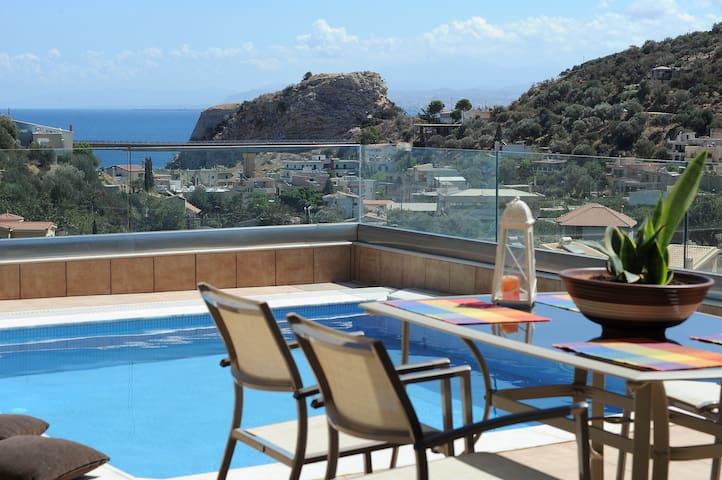 Modern Villa with Private Swimming Pool - Palaiokastro - Villa