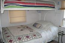 Upper Cabin Bunk room w shared bath.