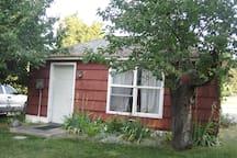 Boy's Town upper cabin detached bunk house.