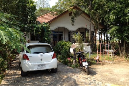 Country Home in Thai Village - Tambon Khok Chang - House