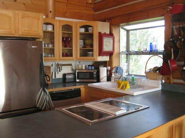 Lower Cabin Kitchen