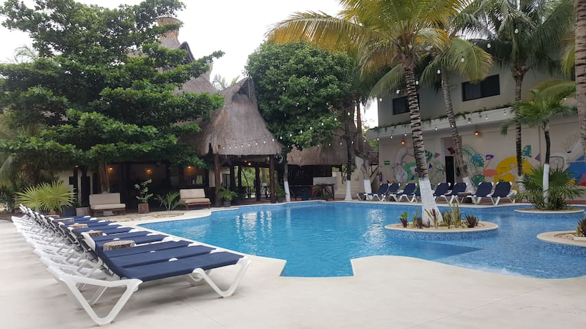 Jungle House Tulum 1 bed