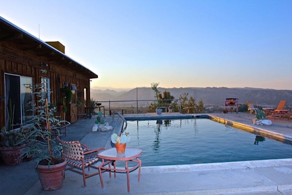 Your next vacation getaway grilling by the pool and a perfect spot for your Poolside Massage or Sunset Yoga session.