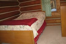 Lower Cabin queen room.
