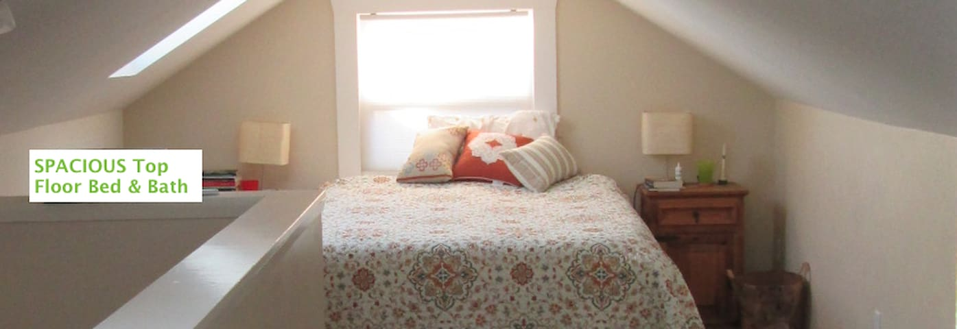 Spacious room in desirable Sellwood/Moreland