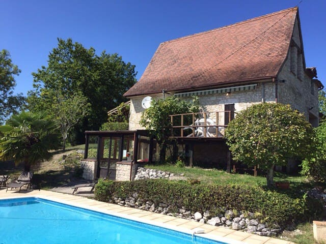 Comfortable country house 15 mins from Bergerac - Saint-Capraise-d'Eymet - House