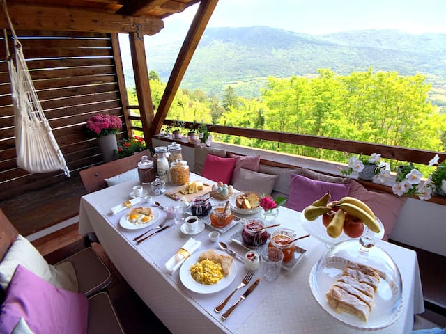 Room in Chalet, Delicious Breakfast-Panoramic View