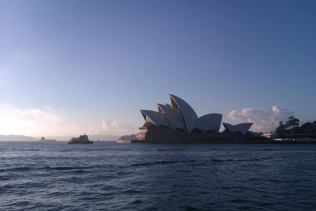 Close proximity to Sydney Harbour and the Opera House